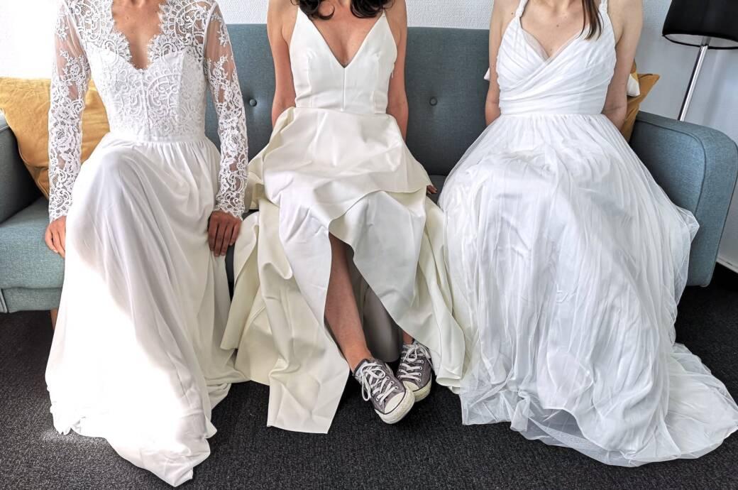 Spitze, Tüll, Satin-Optik – was taugen die Brautkleider von H&M?