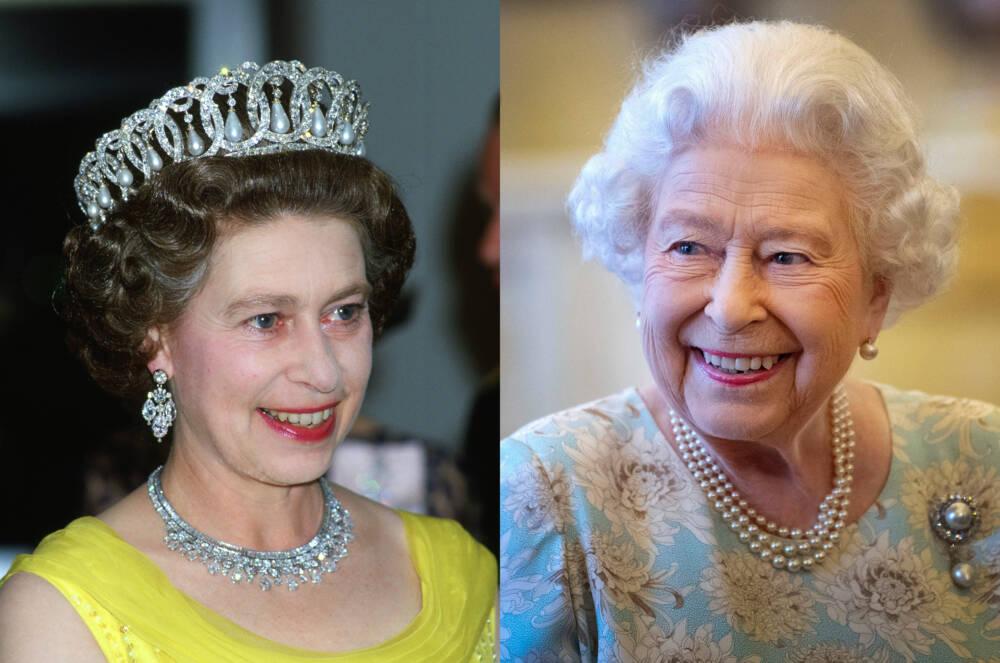 Queen Elizabeth II. 1978 und 2019