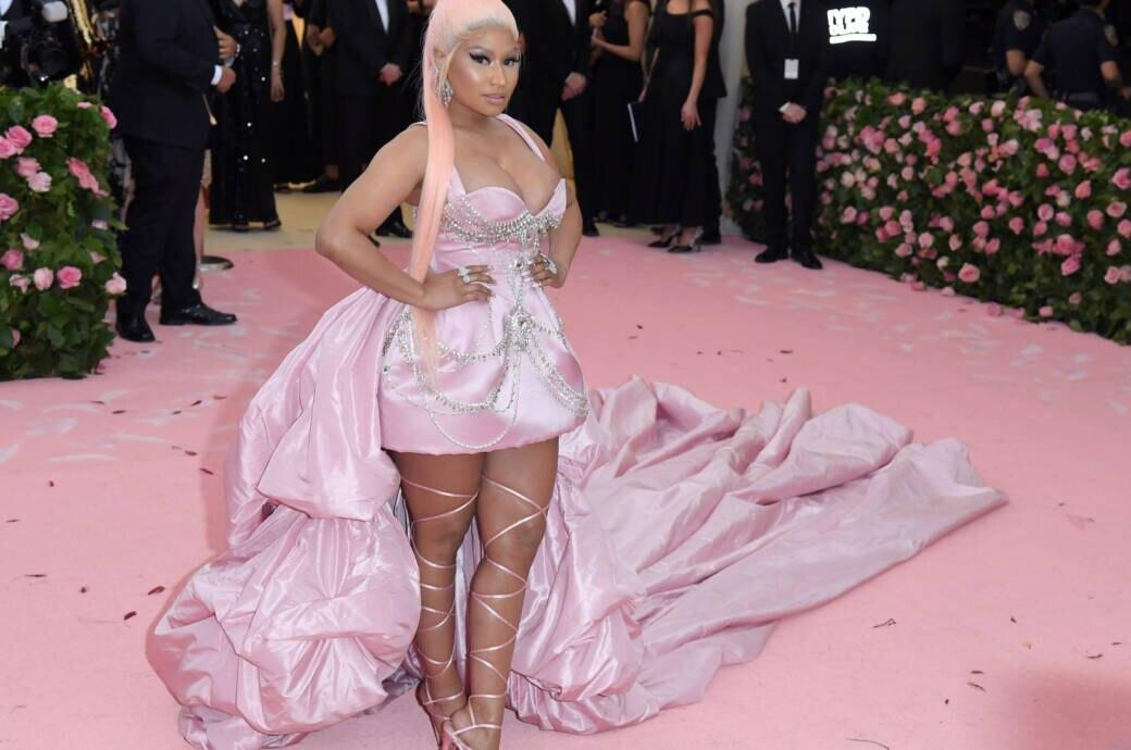 Nicki Minaj bei der Met Gala 2019