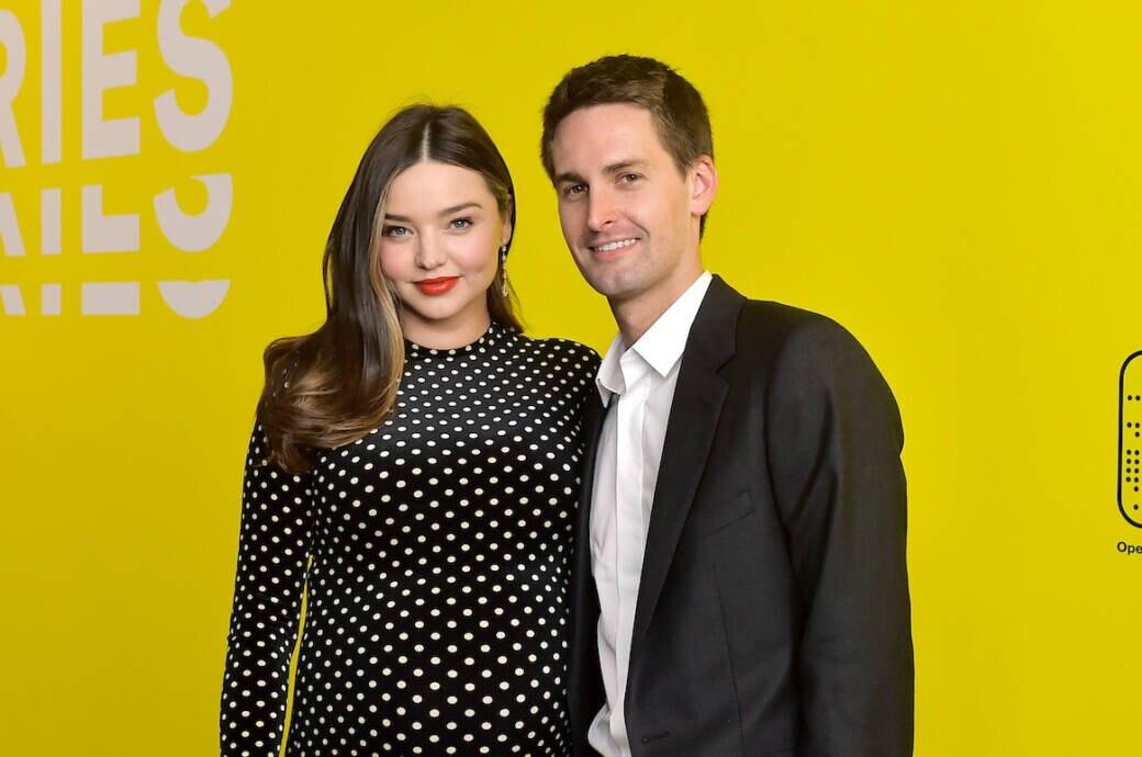 Miranda Kerr und Ehemann Evan Spiegel