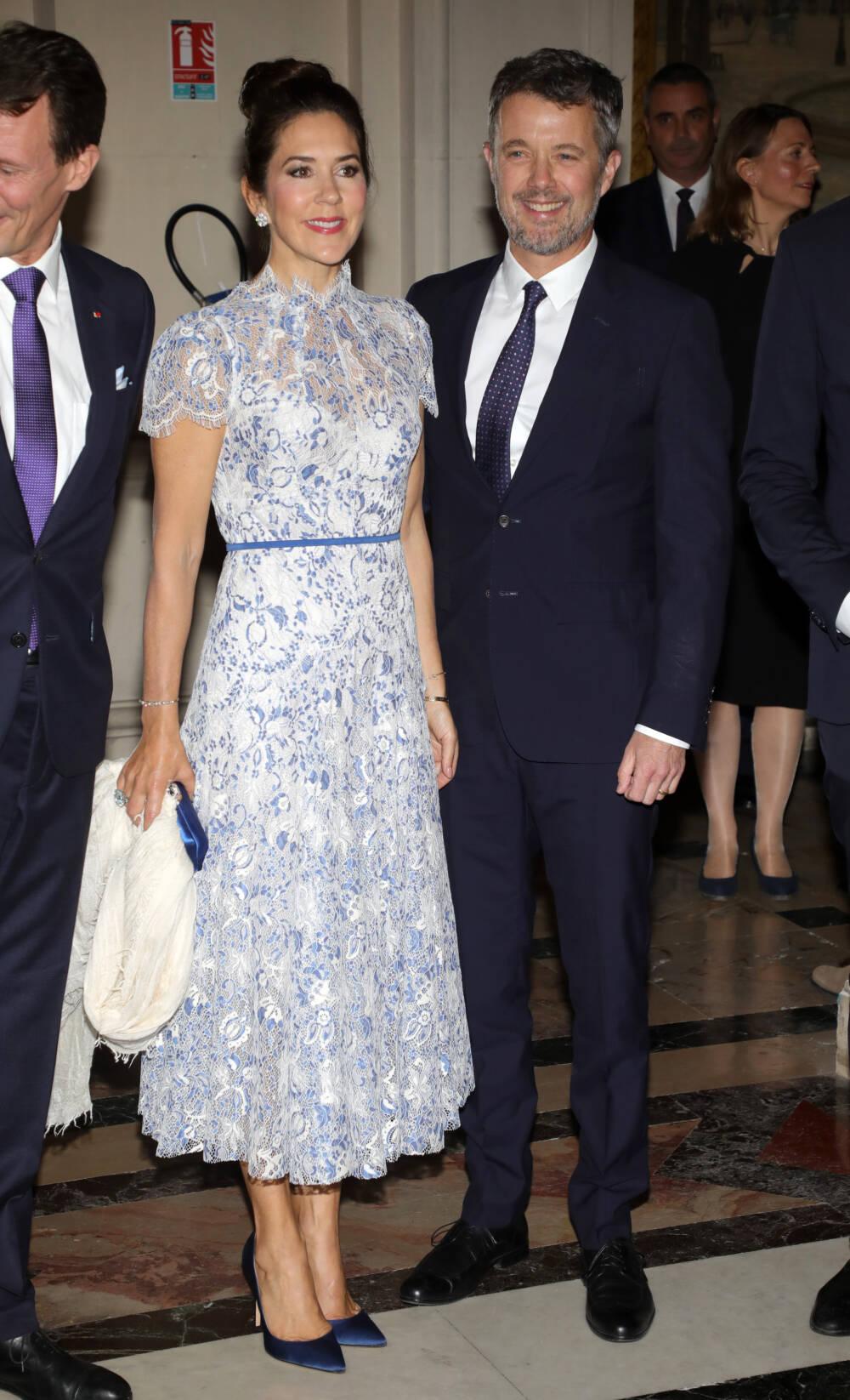 Kronprinzessin Mary und ronprinz Frederik von Dänemark in Paris
