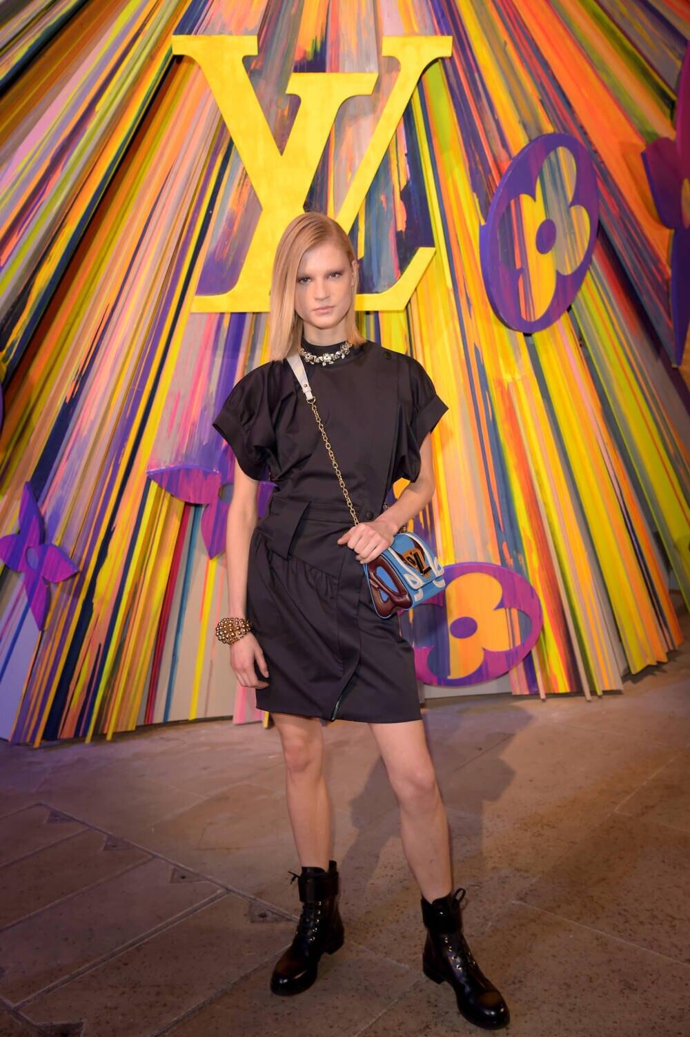 Michelle Laff bei Louis Vuitton