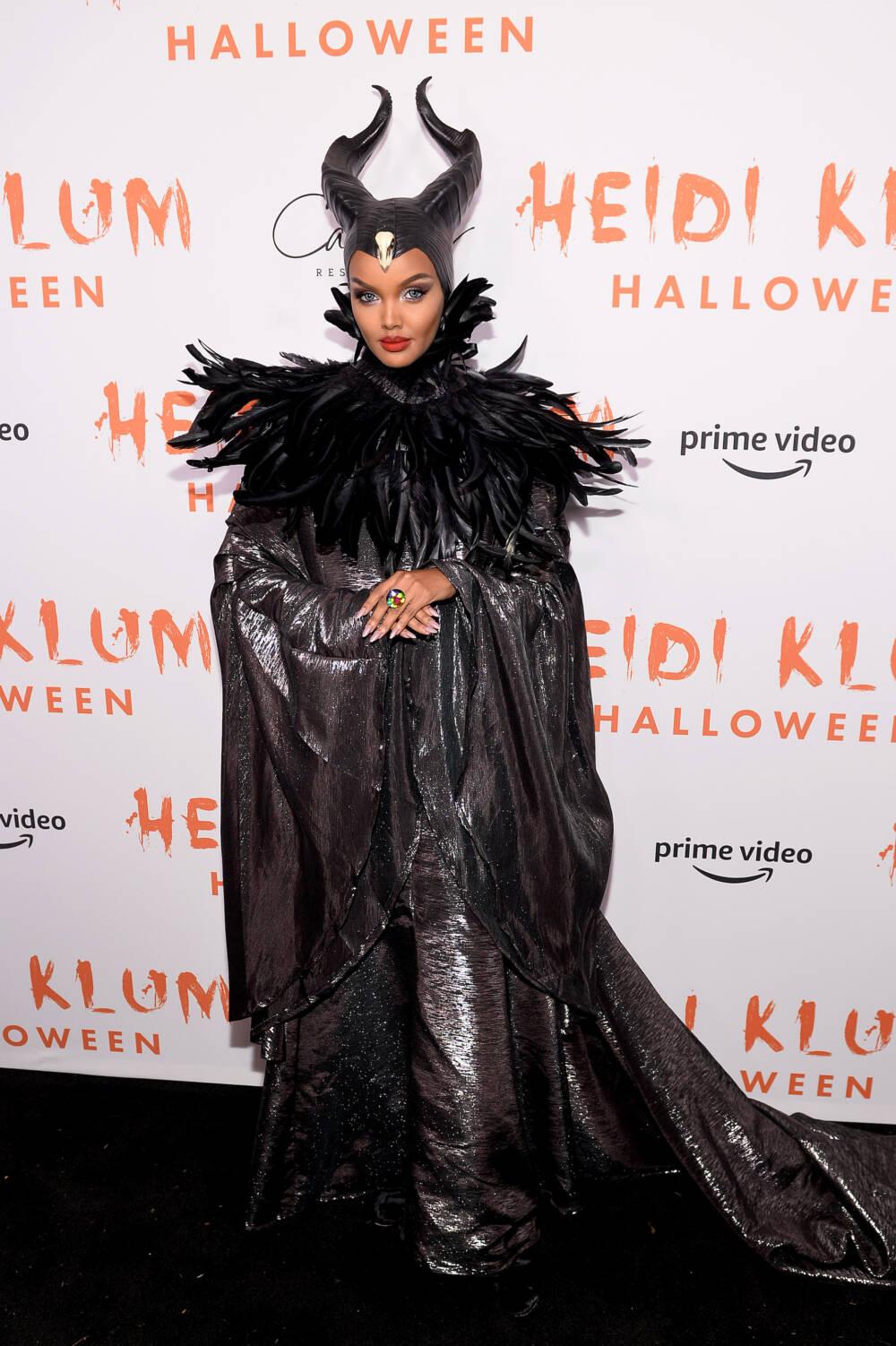 Halima Aden bei Heidi Klums Halloween Party 2019