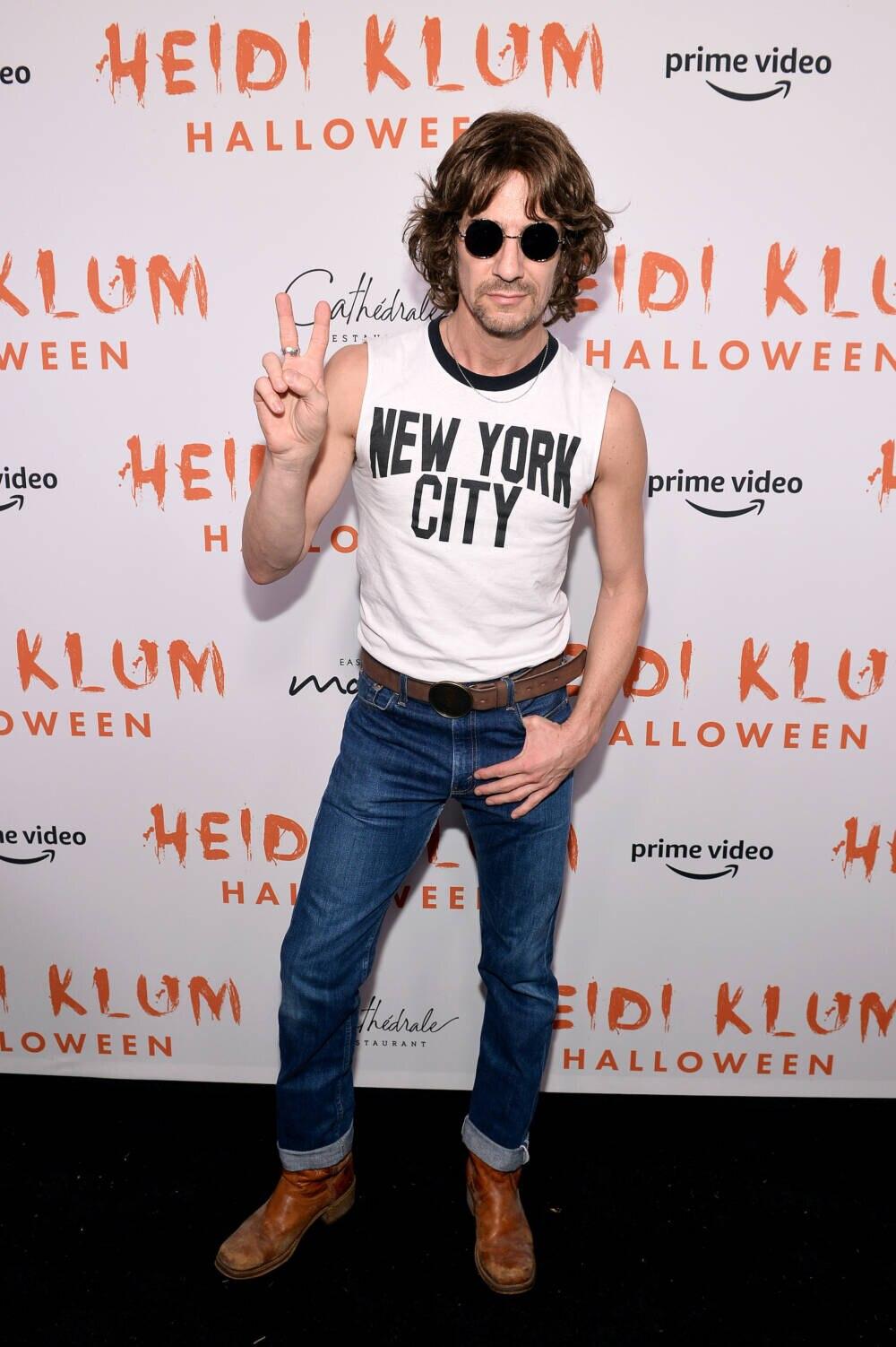 Thomas Hayo bei Heidi Klums Halloween Party 2019