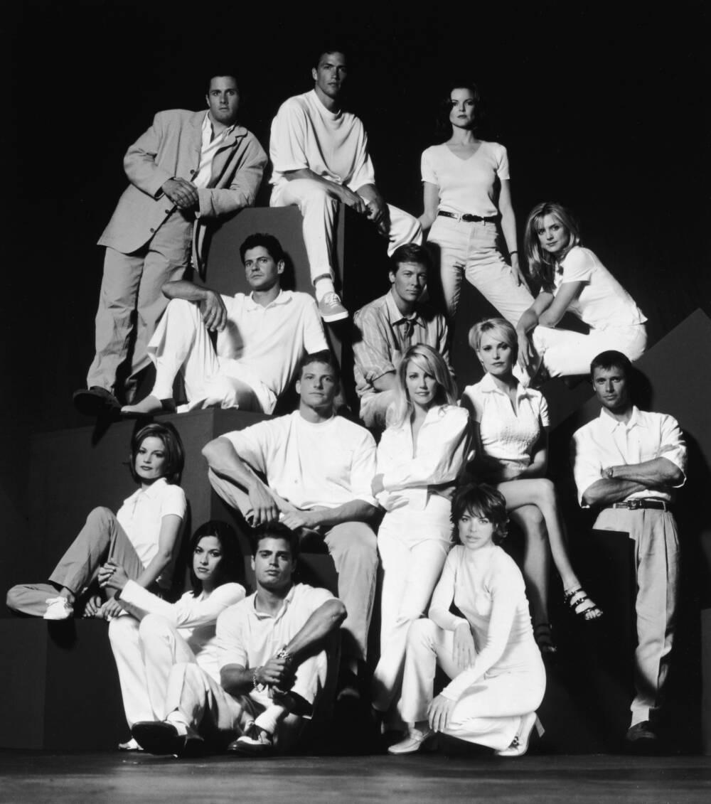 """Der Cast der US-Serie """"Melrose Place"""""""