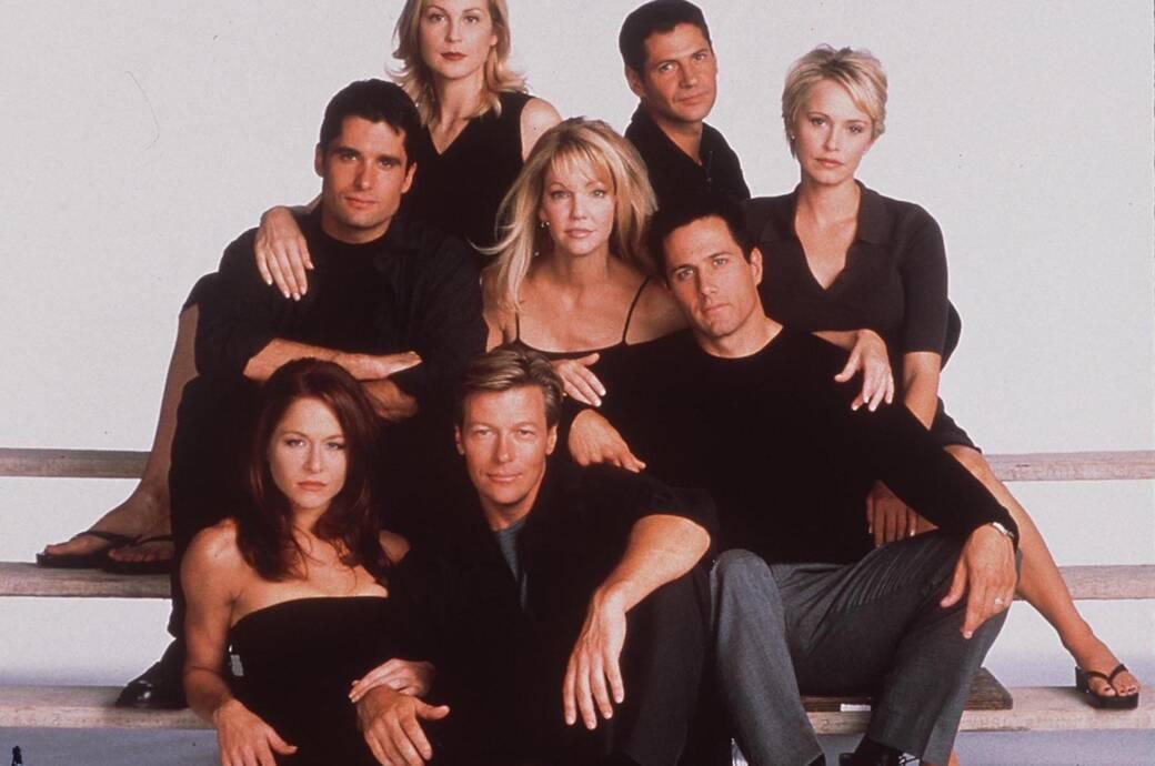 """Melrose Place""-Cast kurz vor dem Serien-Aus 1998"