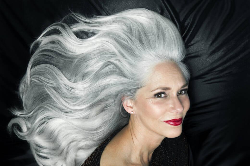 Haare frauen graue Welche Frisuren