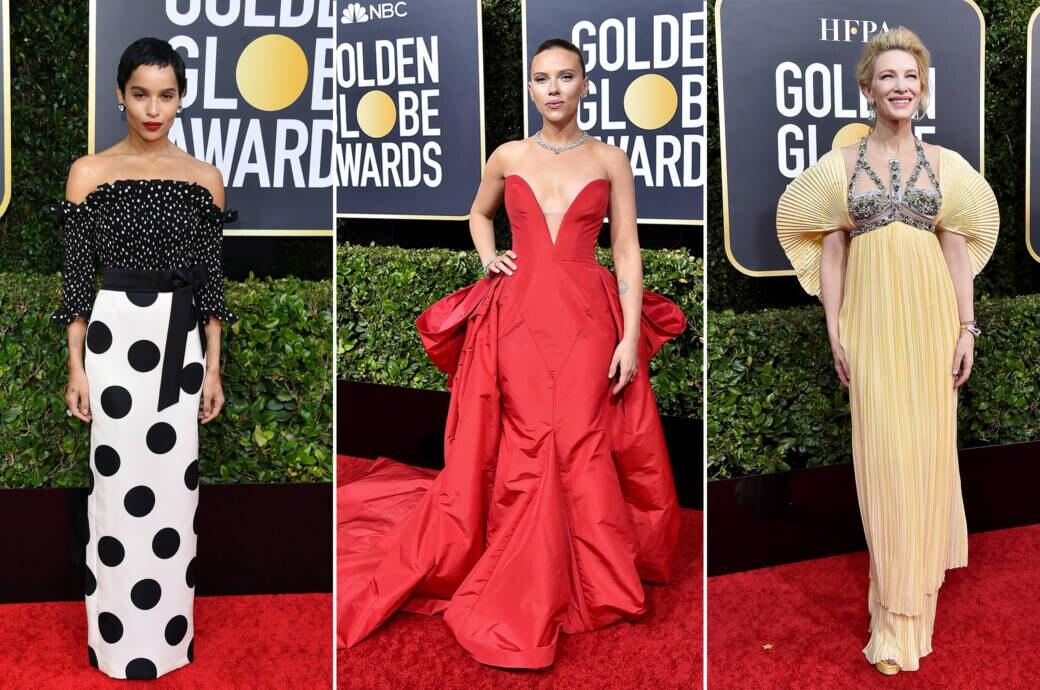 Zoë Kravitz, Scarlett Johansson und Cate Blanchett