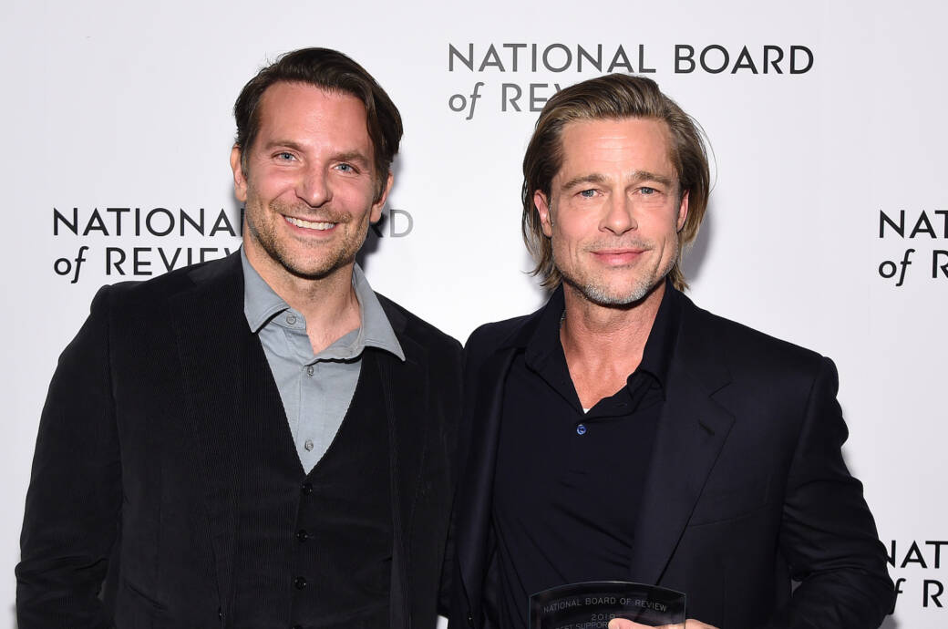 Bradley Cooper (links) und Brad Pitt