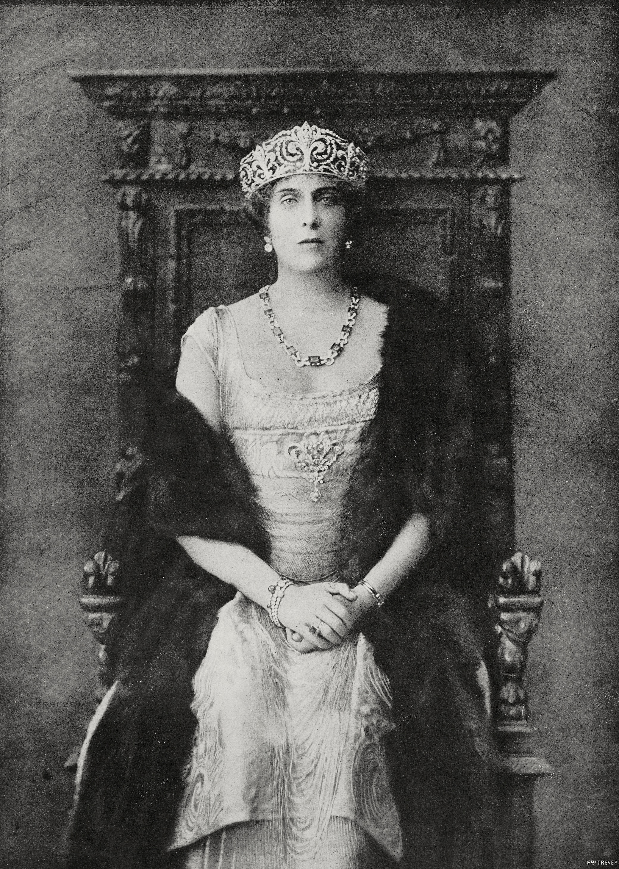 Königin Victoria mit ihrer Lieblingskrone