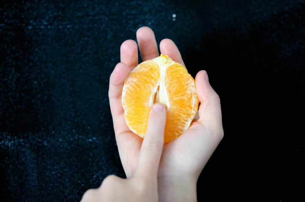 Vagina Orange