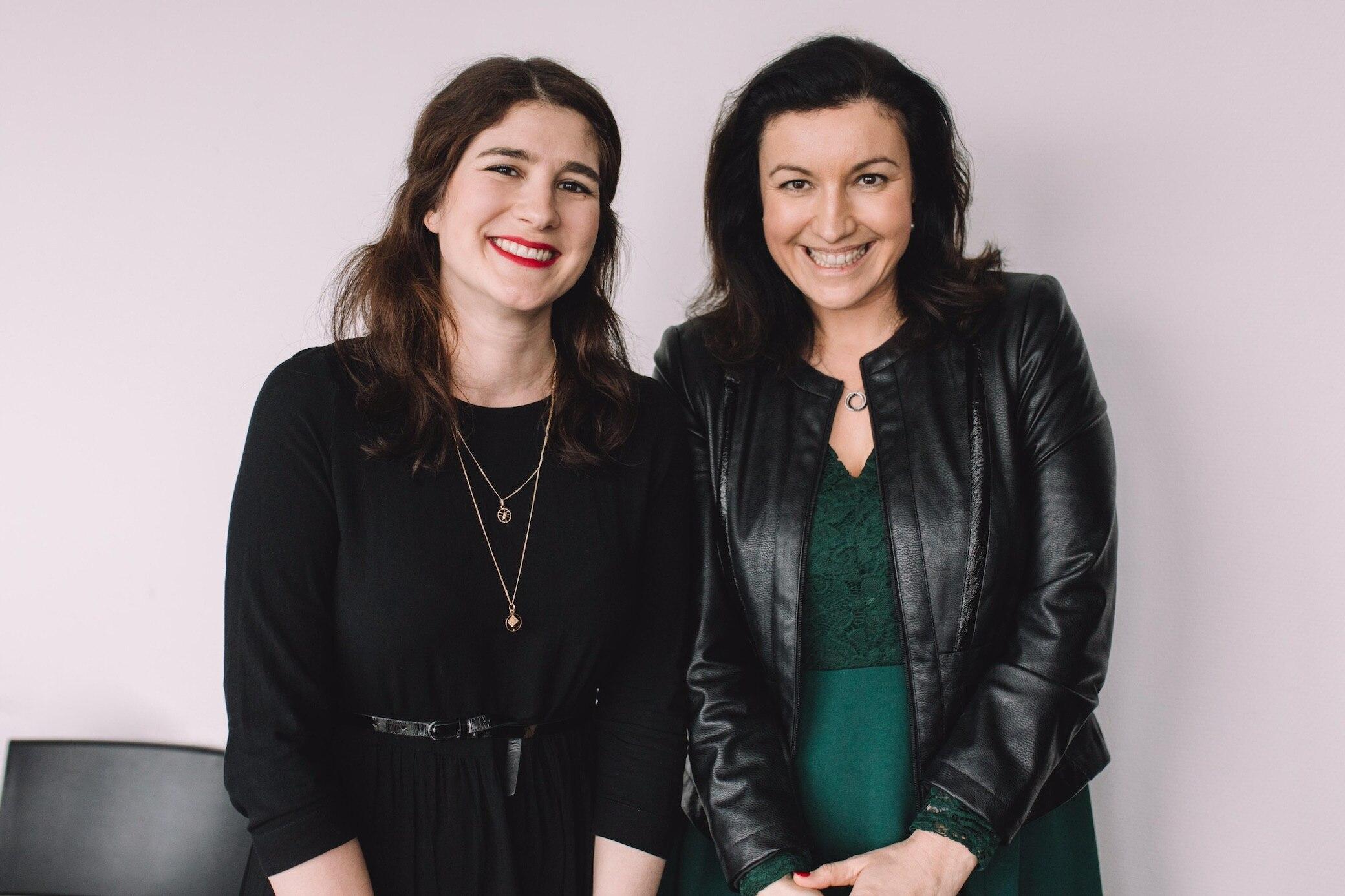 Daniela Garrasi (l.) und Dorothee Bär