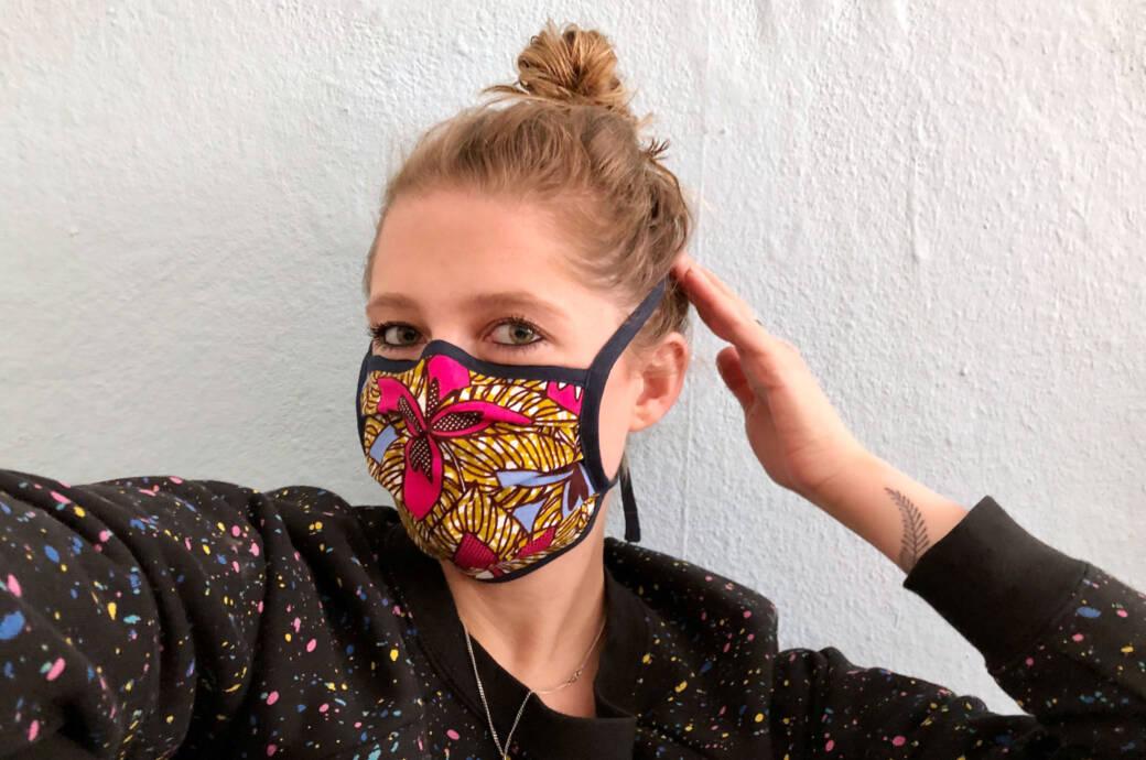 Mundschutzmasken Selbst Machen