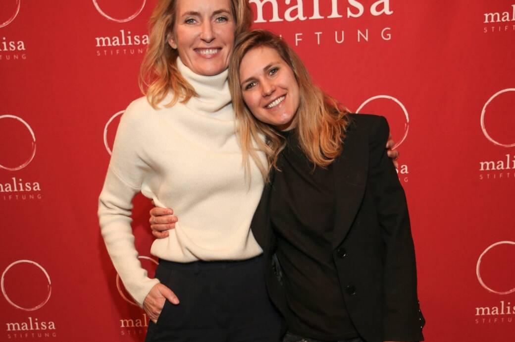 Maria Furtwängler und ihre Tochter Elisabeth