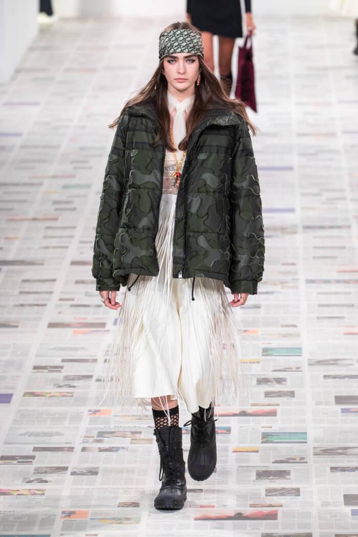 Model bei Dior