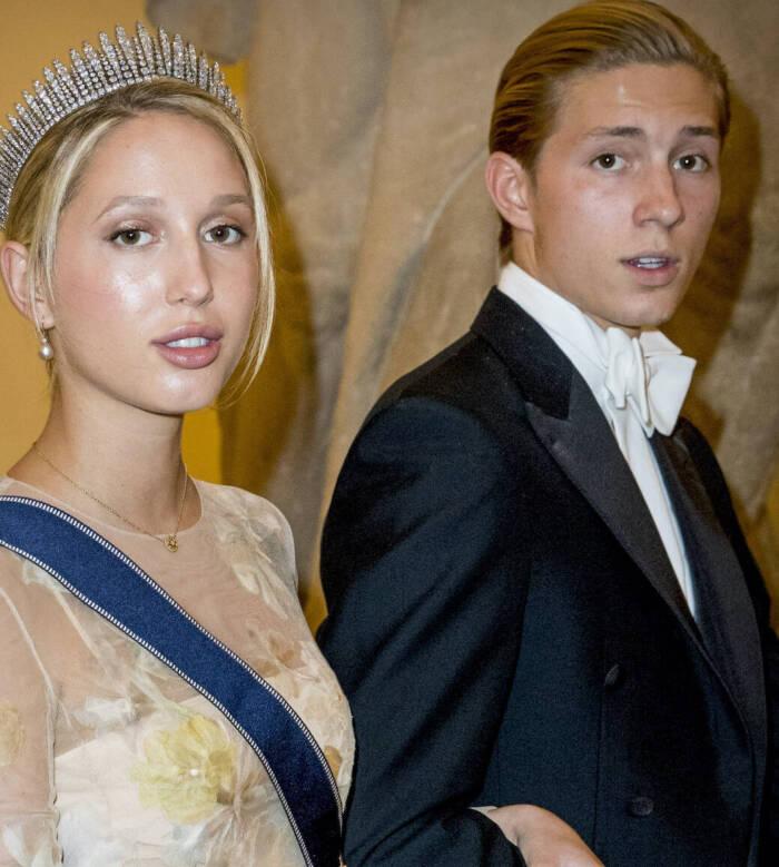 Prinz Achileas-Andreas an der Seite seiner Schwester, Prinzessin Olympia von Griechenland, 2018