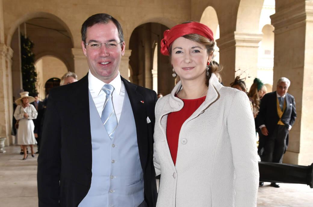 Das Foto zeigt Guillaume und Stéphanie von Luxemburg im Oktober 2019