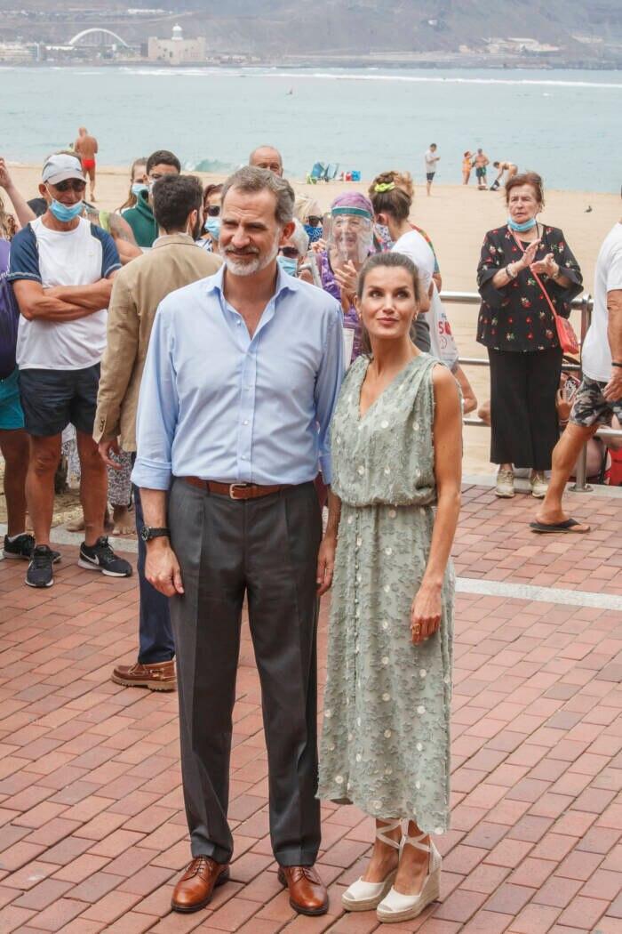 Felipe und Letizia auf Gran Canaria