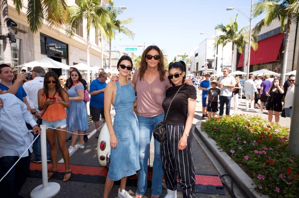 Kendall, Caitlyn und Kylie Jenner