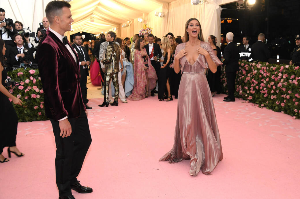 Gisele Bündchen und ihr Ehemann Tom Brady