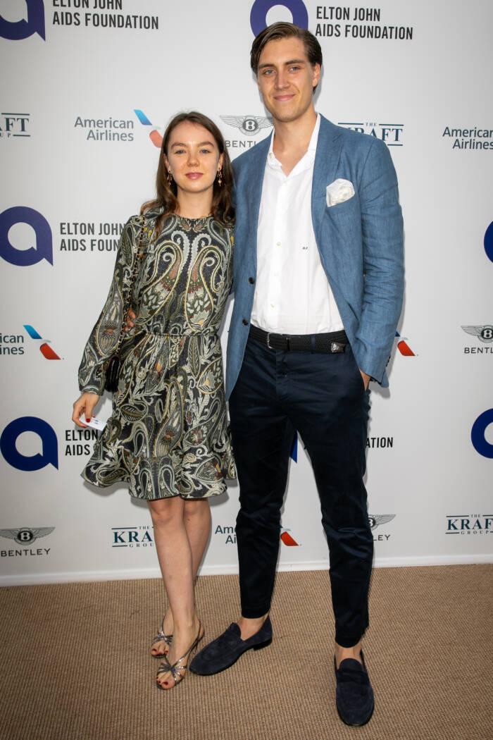 Ben-Sylvester Strautmann und Alexandra von Hannover