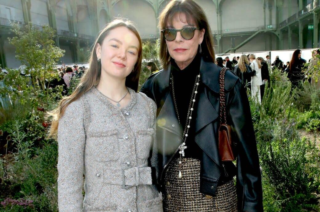 Alexandra von Hannover und Prinzessin Caroline von Monaco
