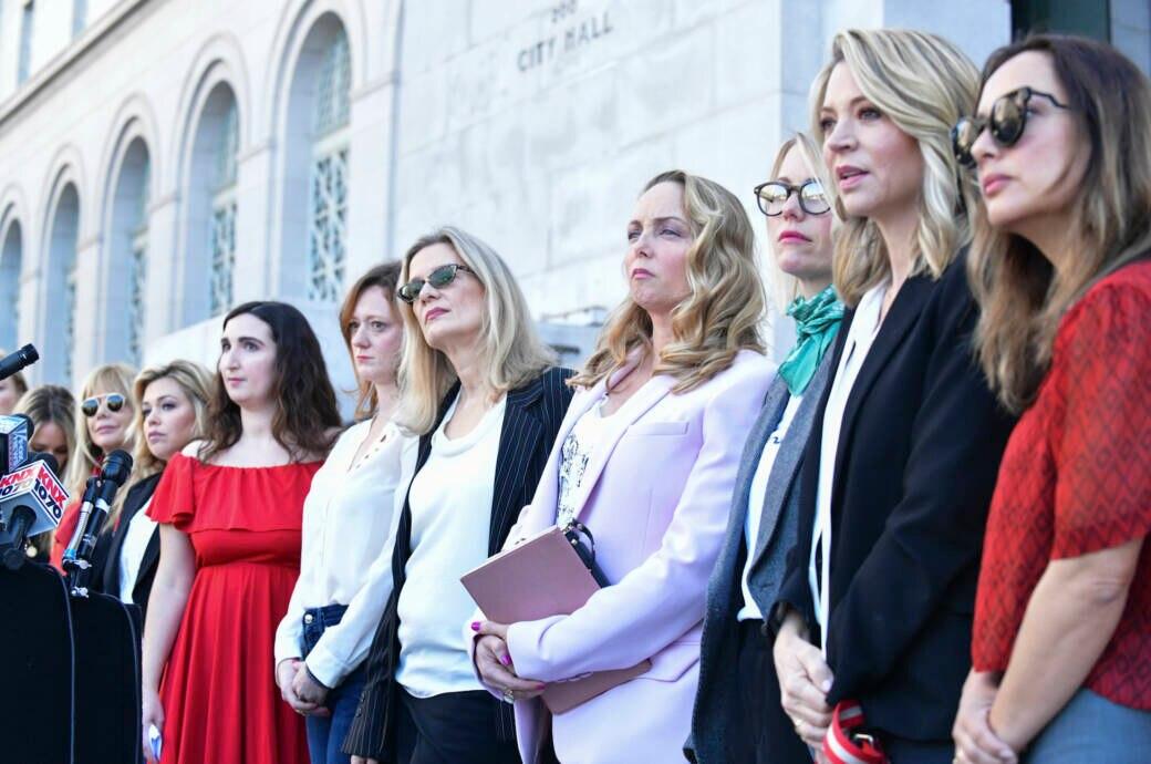 Klägerinnen im Weinstein-Prozess
