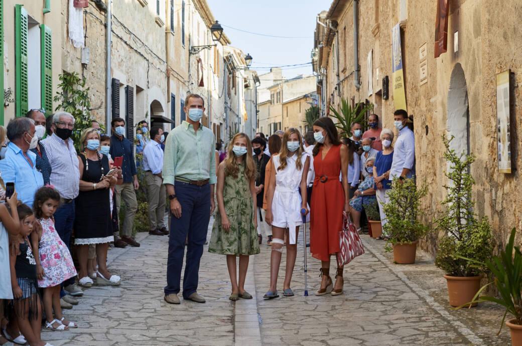 Sapnische Royals auf Mallorca