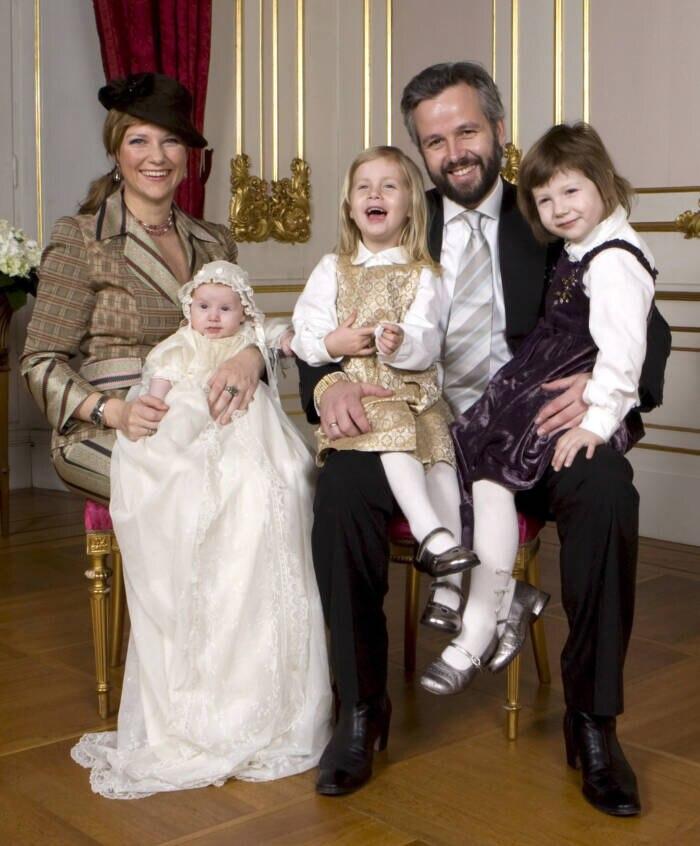 Familienbild von Märtha Louise aus dem Jahr 2009