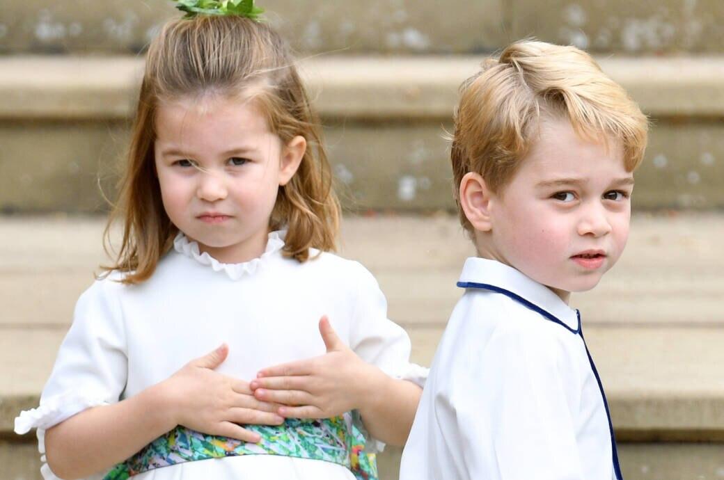 Mini-Royals Charlotte und George