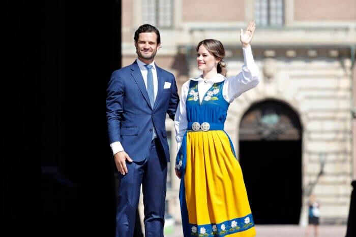 Carl Philip und Sofia von Schweden