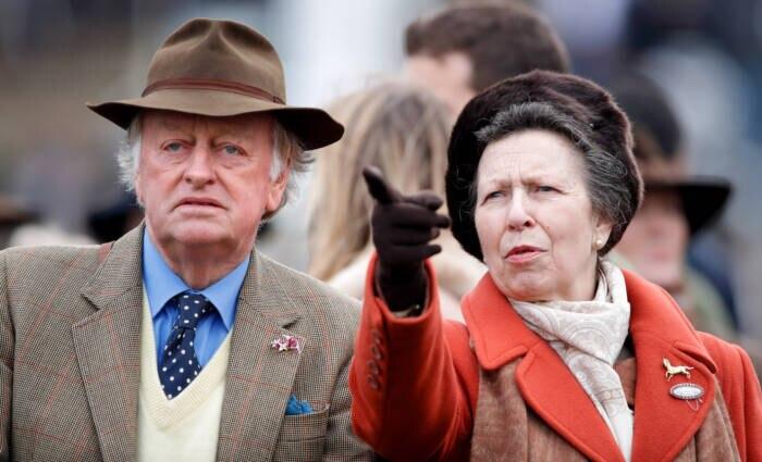Andrew Parker Bowles und Prinzessin Anne
