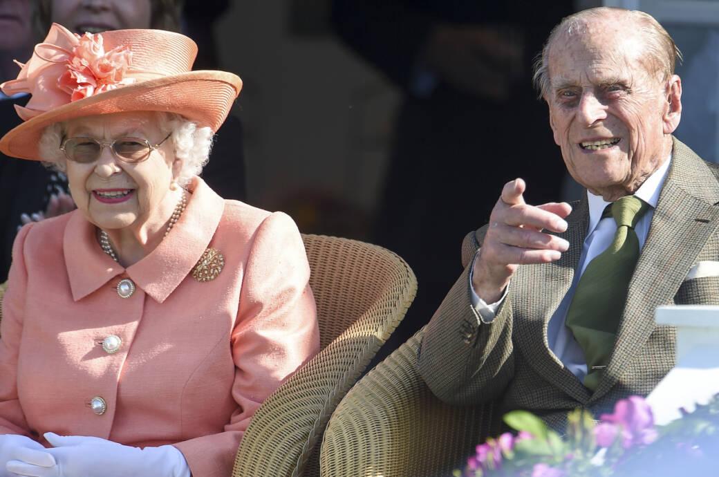Queen Elizabeth II und Prinz Philip