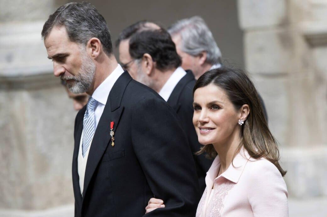 Letizia und Felipe im Jahr 2018