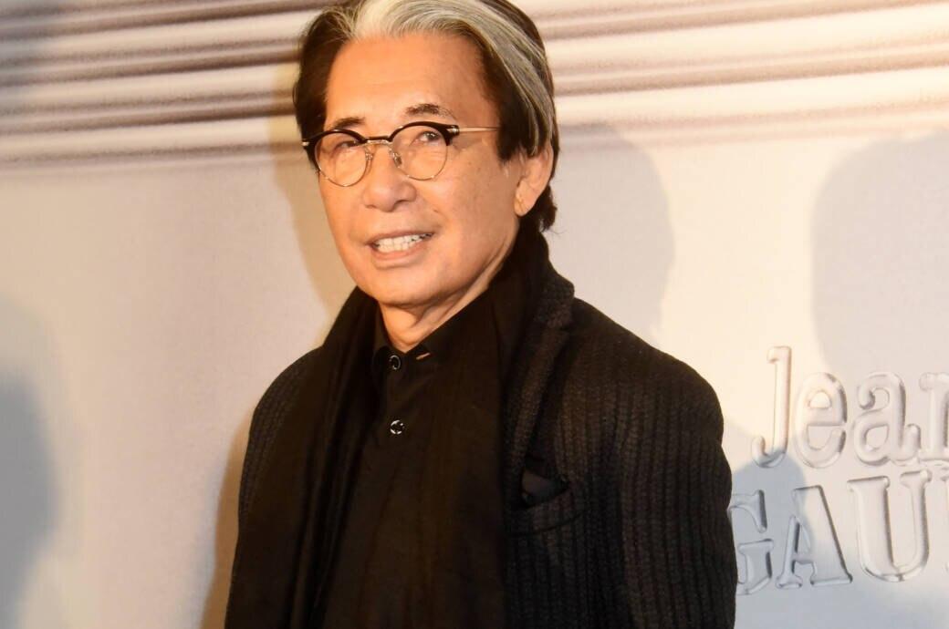 Kenzo Takada im Januar 2020 am Rande der Schauen in Paris
