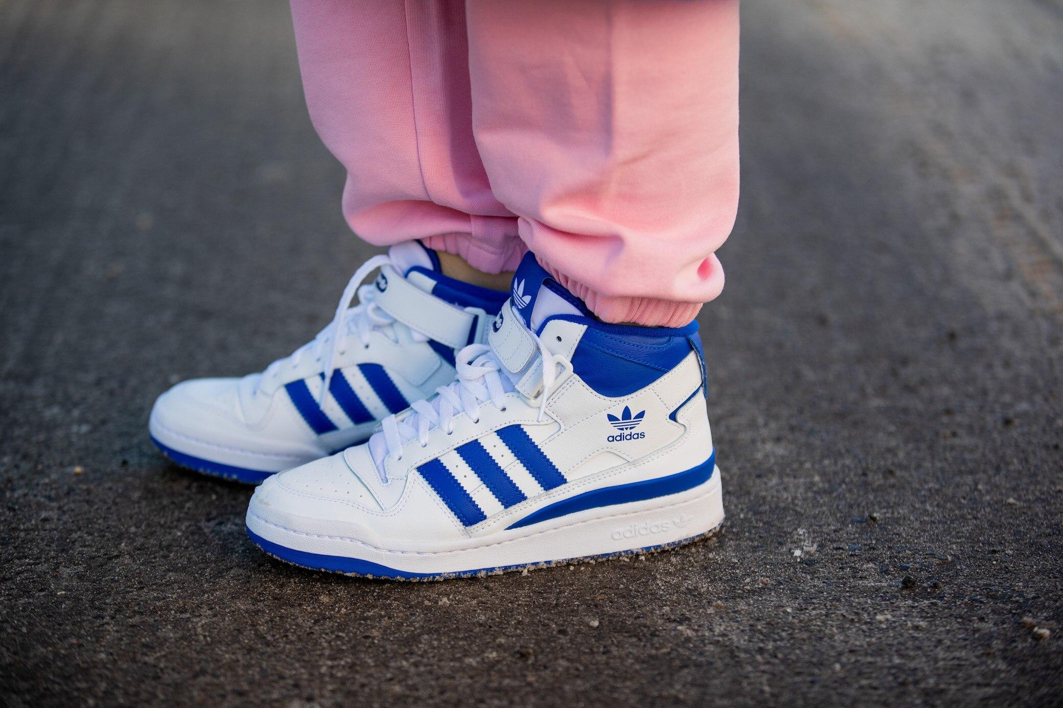 Das Adidas-Logo und die Bedeutung der drei Streifen